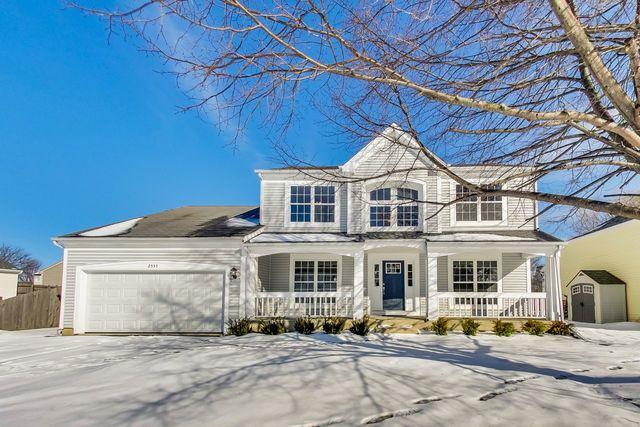 2555 Acorn Drive, Round Lake Beach, IL 60073 (MLS #10267728) :: Baz Realty Network | Keller Williams Preferred Realty