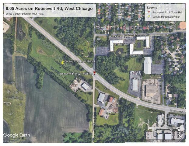 0 Roosevelt Road, West Chicago, IL 60185 (MLS #10272270) :: The Mattz Mega Group