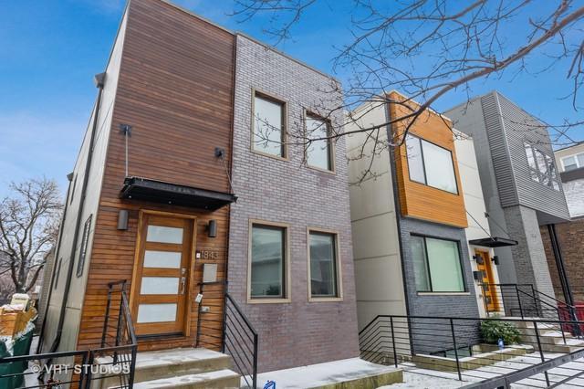 1843 W Dickens Avenue, Chicago, IL 60614 (MLS #10272475) :: The Perotti Group | Compass Real Estate