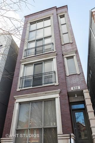 930 N Honore Street #1, Chicago, IL 60622 (MLS #10278500) :: Property Consultants Realty
