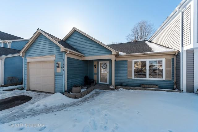 1236 Huntington Drive #1236, Mundelein, IL 60060 (MLS #10290883) :: Baz Realty Network | Keller Williams Preferred Realty