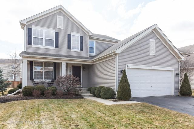211 John M Boor Drive, Gilberts, IL 60136 (MLS #10318101) :: Helen Oliveri Real Estate