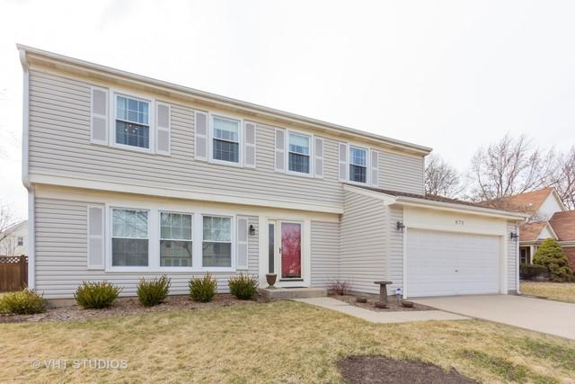 871 Kingsbridge Way, Buffalo Grove, IL 60089 (MLS #10331755) :: Century 21 Affiliated