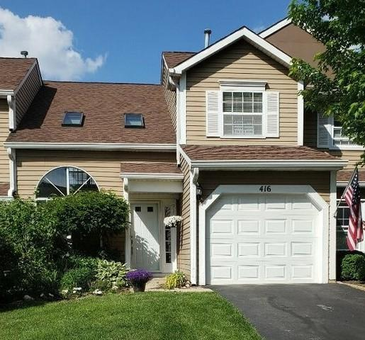 416 Ascot Lane, Streamwood, IL 60107 (MLS #10334018) :: The Wexler Group at Keller Williams Preferred Realty