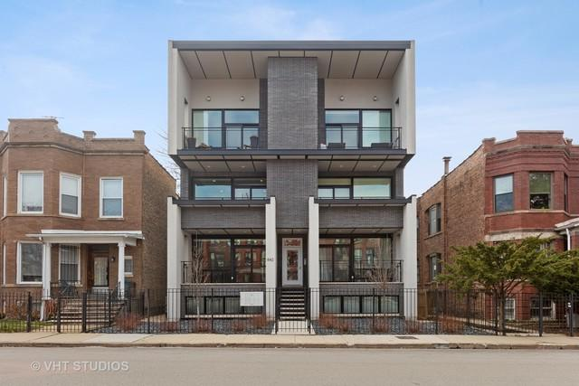 842 N Campbell Avenue 1S, Chicago, IL 60622 (MLS #10335849) :: Berkshire Hathaway HomeServices Snyder Real Estate
