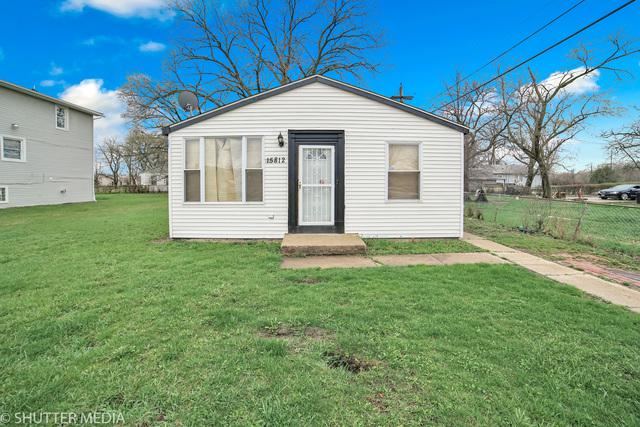 15812 Lincoln Avenue, Harvey, IL 60426 (MLS #10339404) :: Leigh Marcus | @properties
