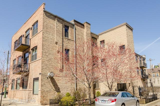 1560 W Wabansia Avenue 2A, Chicago, IL 60642 (MLS #10347096) :: The Perotti Group | Compass Real Estate