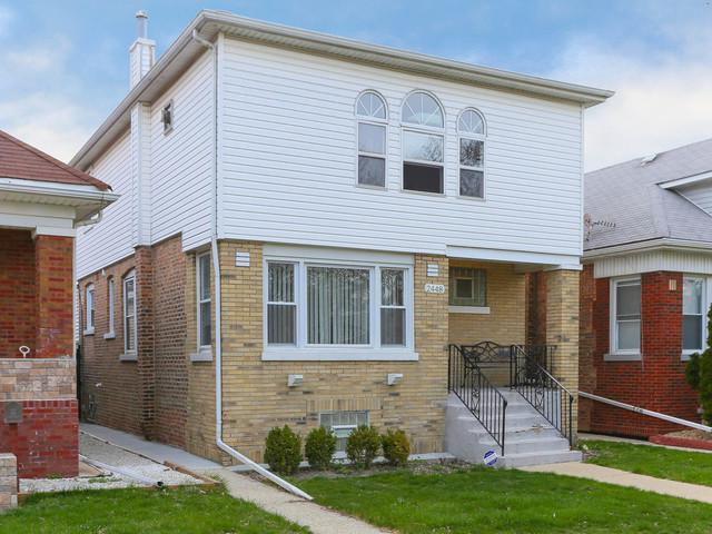 2448 N Mcvicker Avenue, Chicago, IL 60639 (MLS #10354132) :: Leigh Marcus | @properties