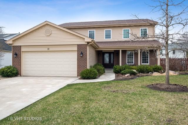 81 Fabish Court, Buffalo Grove, IL 60089 (MLS #10354368) :: Helen Oliveri Real Estate