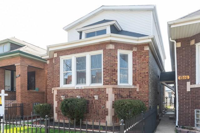 8610 S Marshfield Avenue, Chicago, IL 60620 (MLS #10355478) :: Helen Oliveri Real Estate