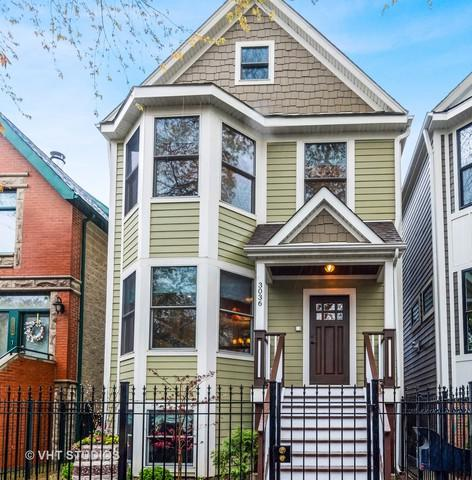3036 N Hoyne Avenue, Chicago, IL 60618 (MLS #10366097) :: Touchstone Group