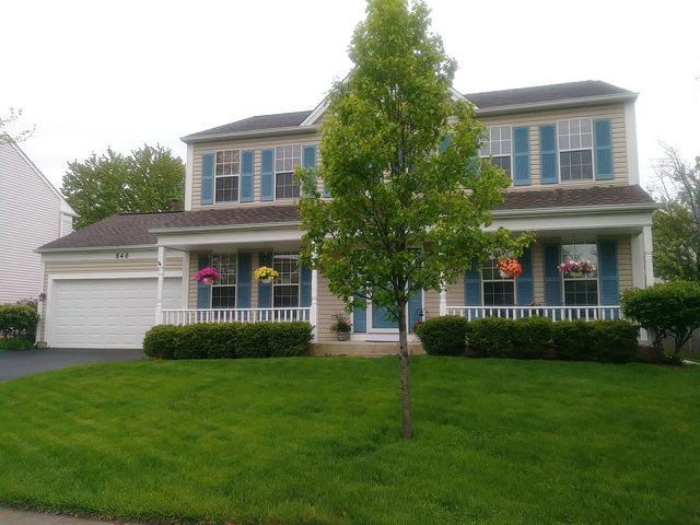 846 Hawk Lane, Carol Stream, IL 60188 (MLS #10382475) :: Berkshire Hathaway HomeServices Snyder Real Estate