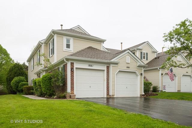 1881 Pebble Beach Circle #1, Elk Grove Village, IL 60007 (MLS #10384893) :: Property Consultants Realty