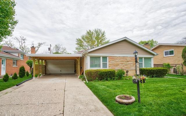 9011 Kilbourn Avenue, Skokie, IL 60076 (MLS #10385132) :: Ryan Dallas Real Estate