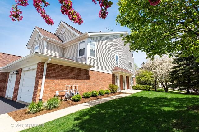 221 Mansfield Way #221, Roselle, IL 60172 (MLS #10385872) :: Berkshire Hathaway HomeServices Snyder Real Estate