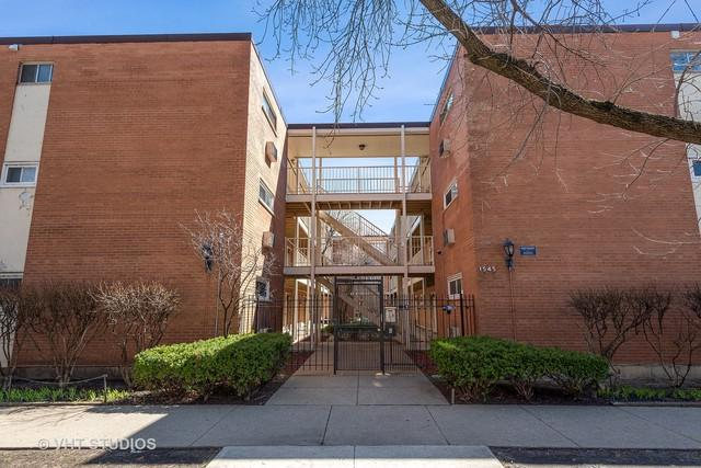 1545 W Chase Avenue #208, Chicago, IL 60626 (MLS #10389134) :: Berkshire Hathaway HomeServices Snyder Real Estate