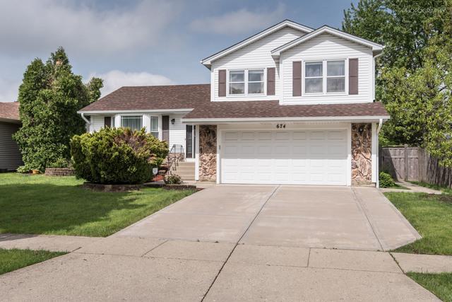 674 Schooner Lane, Elk Grove Village, IL 60007 (MLS #10389746) :: Berkshire Hathaway HomeServices Snyder Real Estate