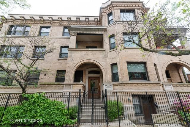 1351 W Wilson Avenue #2, Chicago, IL 60640 (MLS #10389987) :: The Perotti Group | Compass Real Estate