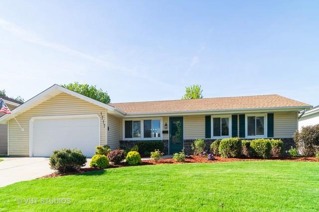 1717 Crandon Lane, Schaumburg, IL 60193 (MLS #10392766) :: Berkshire Hathaway HomeServices Snyder Real Estate