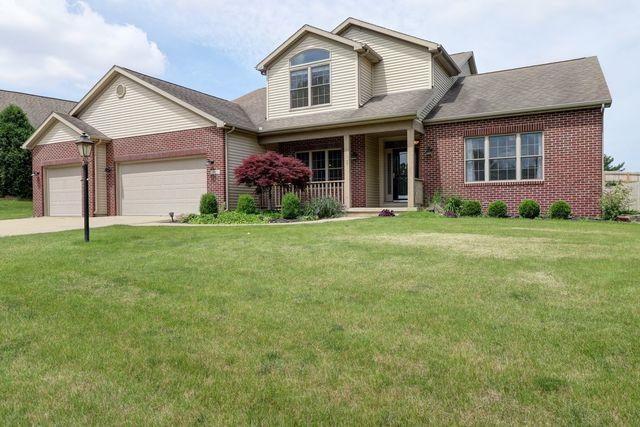 205 S Fox Run Drive, Mahomet, IL 61853 (MLS #10410903) :: Ryan Dallas Real Estate