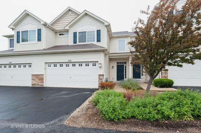 756 S Jade Lane, Round Lake, IL 60073 (MLS #10416592) :: The Dena Furlow Team - Keller Williams Realty