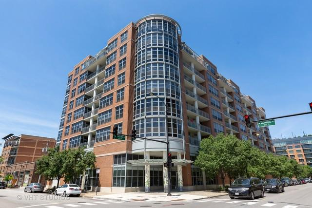 1200 W Monroe Street #511, Chicago, IL 60607 (MLS #10422422) :: The Perotti Group   Compass Real Estate