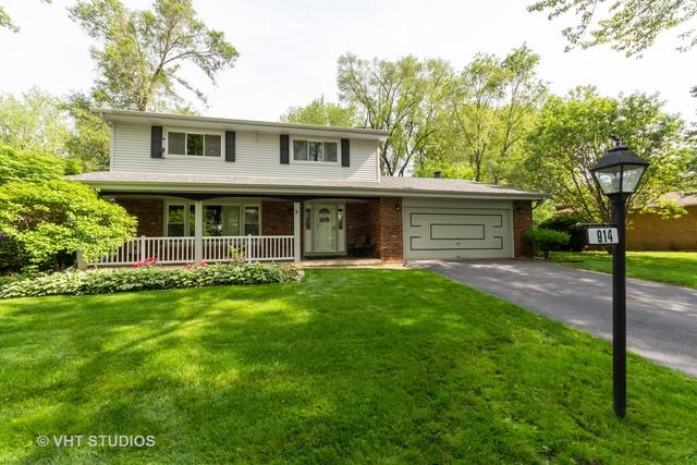 914 E Zinnia Lane, Palatine, IL 60074 (MLS #10428246) :: The Spaniak Team