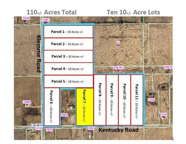 Parcel 7 - Klemme Rd./Kentucky Road, Beecher, IL 60401 (MLS #10429442) :: Property Consultants Realty