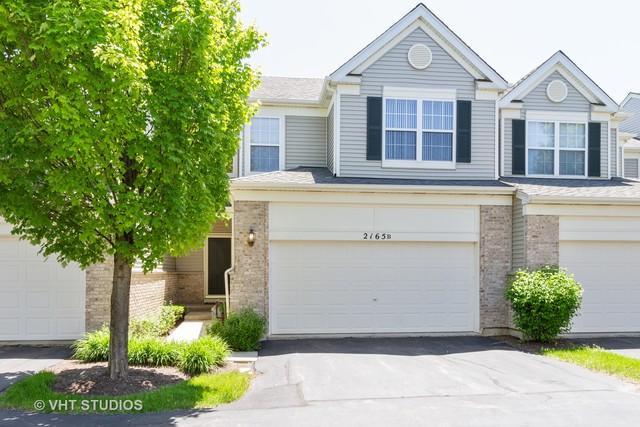 2165 Braeburn Drive B, Wauconda, IL 60084 (MLS #10445736) :: Berkshire Hathaway HomeServices Snyder Real Estate