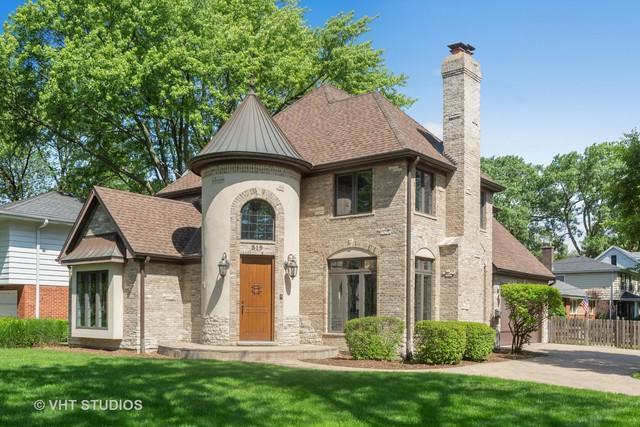 519 The Lane, Hinsdale, IL 60521 (MLS #10446577) :: Ryan Dallas Real Estate