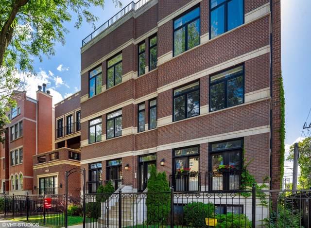 3340 N Damen Avenue 1S, Chicago, IL 60618 (MLS #10453829) :: Berkshire Hathaway HomeServices Snyder Real Estate