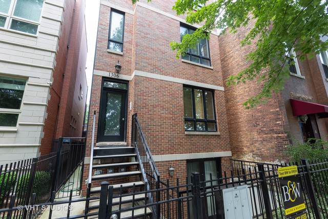1306 W Grenshaw Street #1, Chicago, IL 60607 (MLS #10455631) :: Property Consultants Realty
