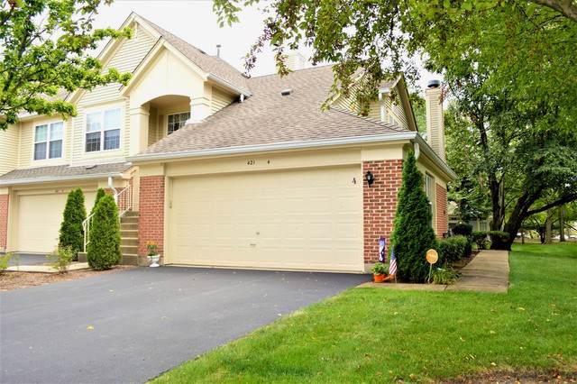 421 Cobbler Court #4, Bartlett, IL 60103 (MLS #10465185) :: Angela Walker Homes Real Estate Group