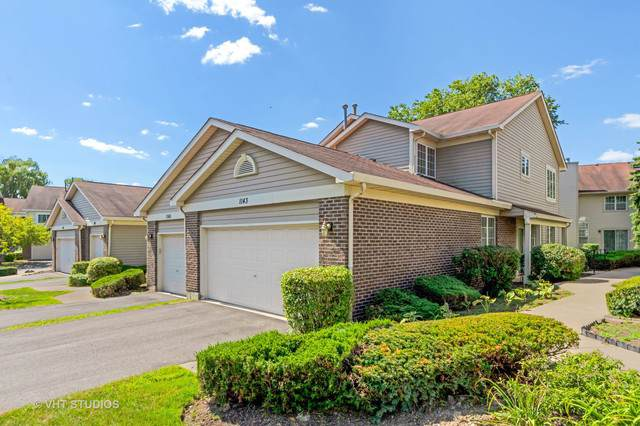 1143 S Parkside Drive N2, Palatine, IL 60067 (MLS #10483005) :: Berkshire Hathaway HomeServices Snyder Real Estate