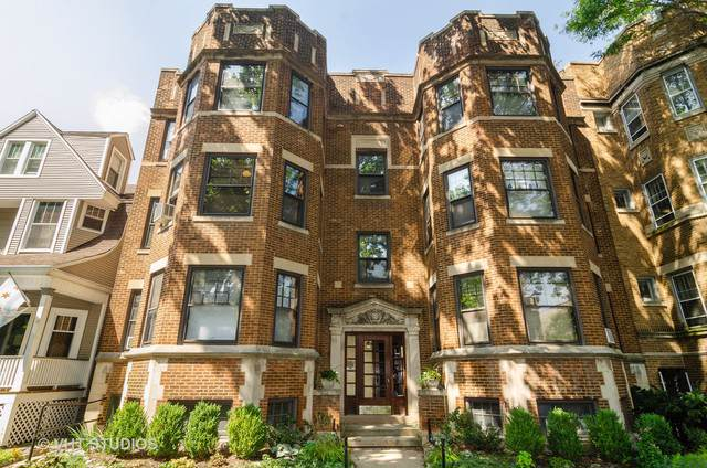1432 W Winona Street #2, Chicago, IL 60640 (MLS #10491130) :: The Perotti Group | Compass Real Estate