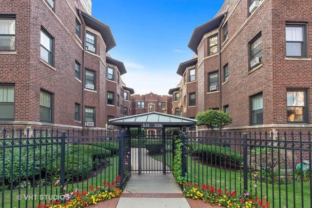 531 W Addison Street 1S, Chicago, IL 60613 (MLS #10493583) :: Touchstone Group