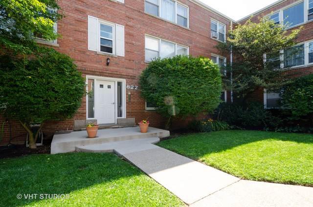 622 Oakton Street #1, Evanston, IL 60202 (MLS #10493953) :: Berkshire Hathaway HomeServices Snyder Real Estate