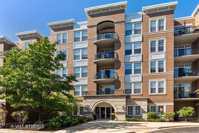 455 W Wood Street #409, Palatine, IL 60067 (MLS #10541716) :: The Perotti Group | Compass Real Estate