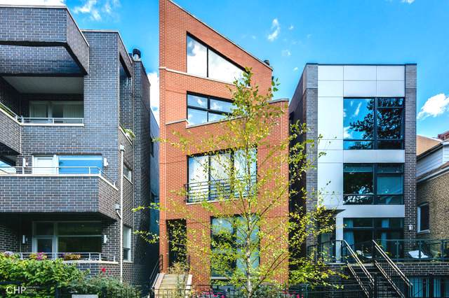 831 N Hermitage Avenue #3, Chicago, IL 60622 (MLS #10543803) :: The Perotti Group | Compass Real Estate