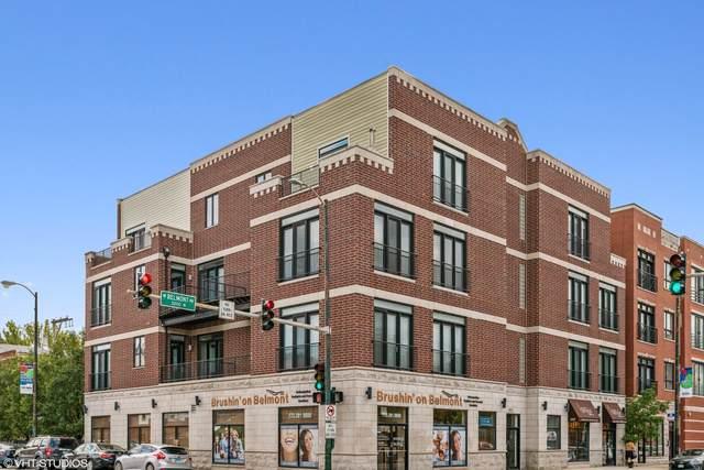 2007 W Belmont Avenue 2E, Chicago, IL 60618 (MLS #10546952) :: John Lyons Real Estate