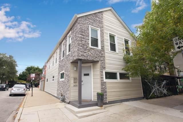 1419 N Paulina Street, Chicago, IL 60622 (MLS #10549935) :: Lewke Partners