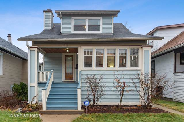 716 N Harvey Avenue, Oak Park, IL 60302 (MLS #10609591) :: The Perotti Group | Compass Real Estate
