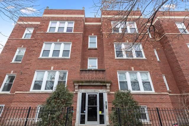2642 N Emmett Street #1, Chicago, IL 60647 (MLS #10611157) :: John Lyons Real Estate