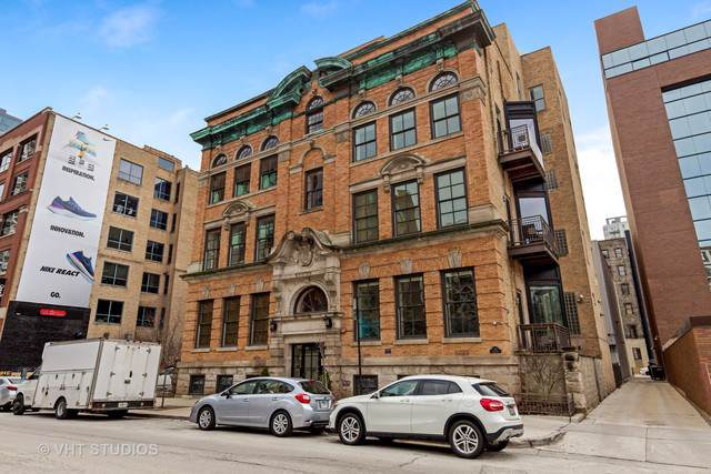 319 W Erie Street 2W, Chicago, IL 60654 (MLS #10621154) :: The Perotti Group | Compass Real Estate