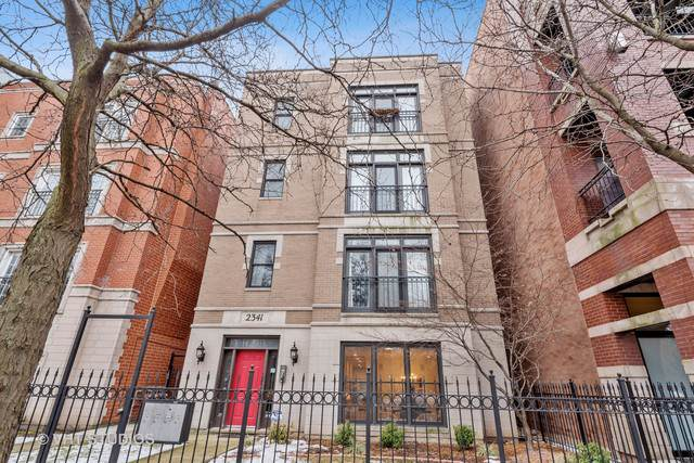2341 W Montrose Avenue #1, Chicago, IL 60618 (MLS #10626587) :: Baz Network | Keller Williams Elite