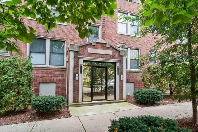 1633 W Columbia Avenue 1W, Chicago, IL 60626 (MLS #10634096) :: Helen Oliveri Real Estate