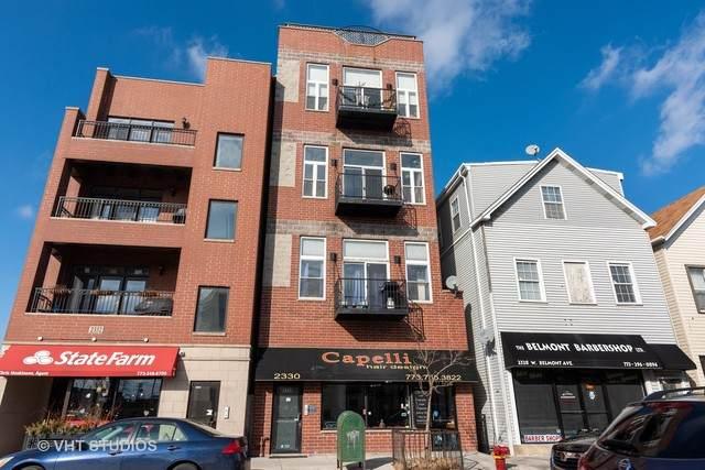 2332 W Belmont Avenue #4, Chicago, IL 60618 (MLS #10639449) :: Helen Oliveri Real Estate