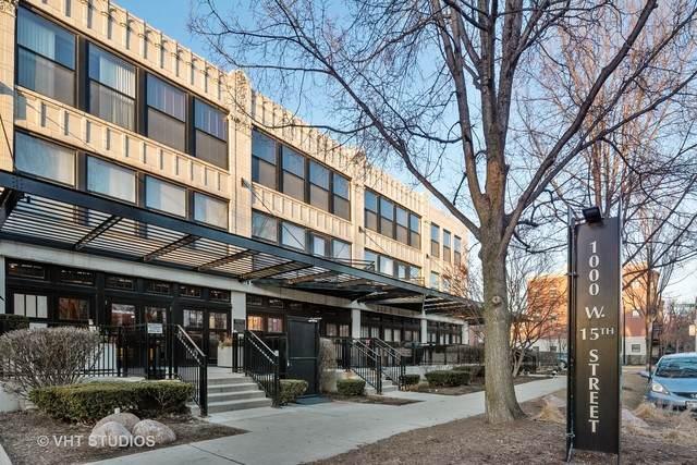 1000 W 15TH Street #125, Chicago, IL 60608 (MLS #10645926) :: Helen Oliveri Real Estate