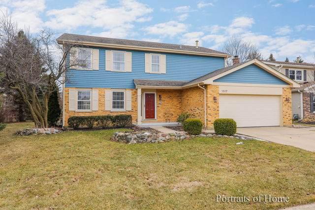 1517 Rose Boulevard, Buffalo Grove, IL 60089 (MLS #10655948) :: Angela Walker Homes Real Estate Group