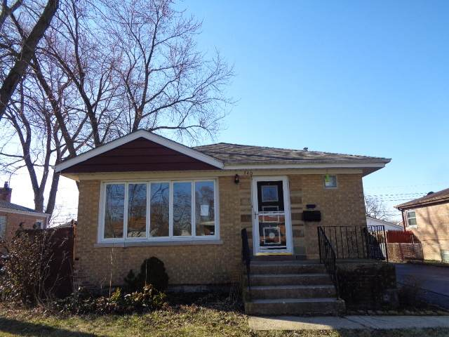 240 Chestnut Avenue, South Chicago Heights, IL 60411 (MLS #10657861) :: John Lyons Real Estate